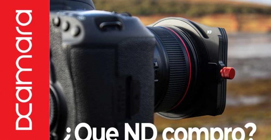 CÓMO SABER EL FILTRO DE DENSIDAD NEUTRA ADECUADO A COMPRAR